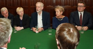 Corbyn and Shadow Cabinet