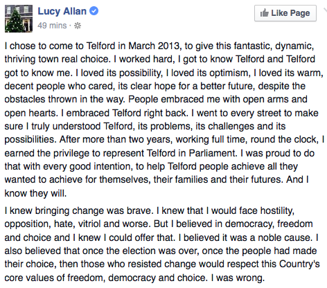 Lucy Allan Post 1