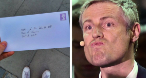 Labour member sends hilarious commiseration letter to Zac Goldsmith after his London Mayoral loss