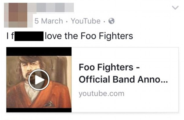 Catherine Starr Foo Fighters 1