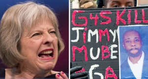 Theresa May G4S Jimmy Mubenga