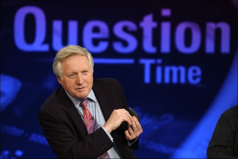 "Dimbleby on BBC's ""Question Time"" Image-BBC"