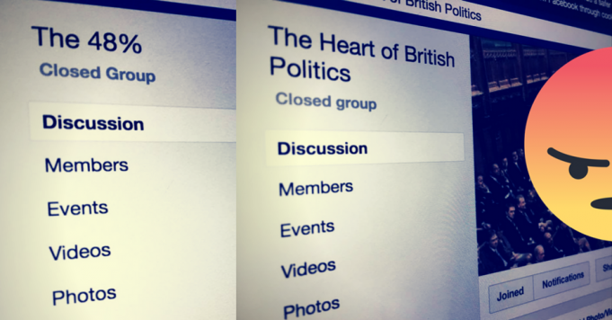 Facebook Heart of British Politics 48%