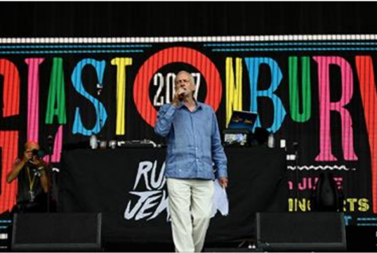 Here's a list of things more 'shameful' than Corbyn speaking at Glastonbury