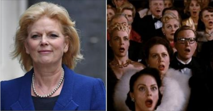 TORY SCANDAL: Conservative MP shocks her own party by telling the truth