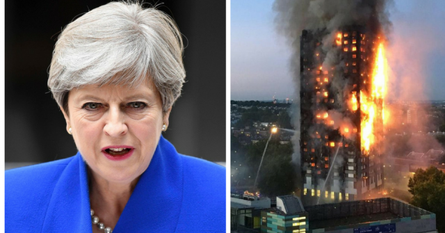 How May's robotic response to Grenfell Tower destroyed the shred of credibility she had left
