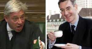 BAD-ASS BERCOW: Yet again, the Speaker is called upon to reprimand infantile Tories