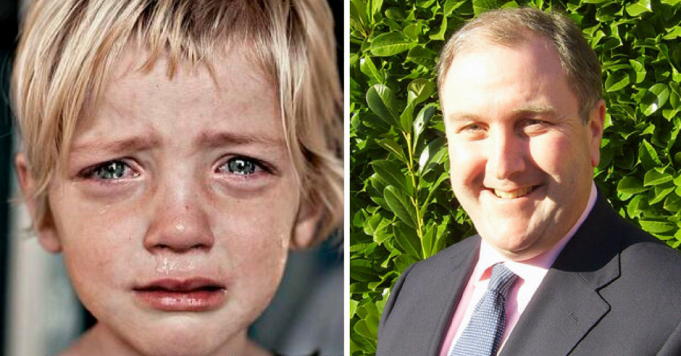 Tory MP Simon Hoare just said that only a miracle will stop children going hungry in Tory Britain