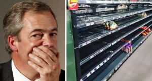Edeka Supermarket Racist Shelves Empty