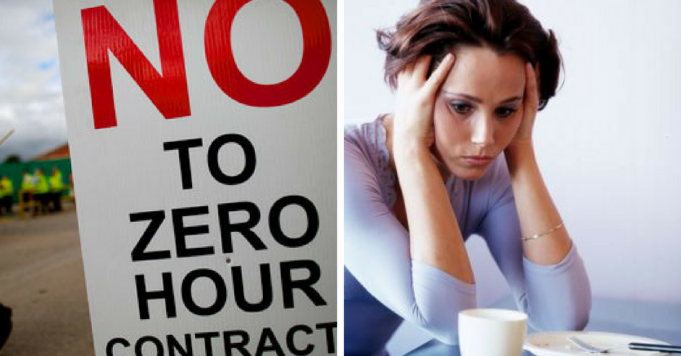 Misery caused by low hour contracts