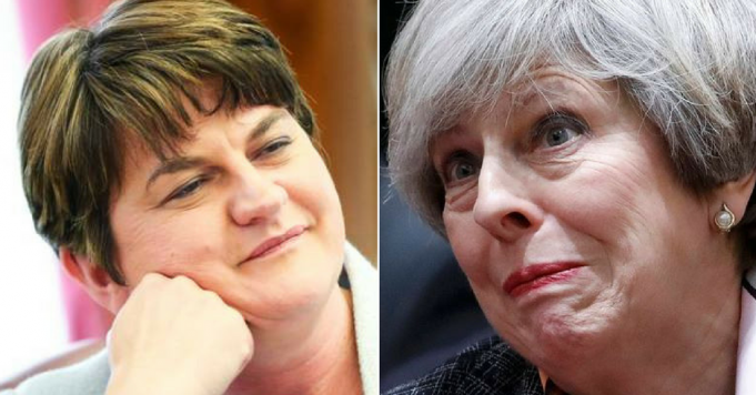 Coalition in chaos as DUP confirm they will vote AGAINST Tory plans to raise tuition fees to almost £10k