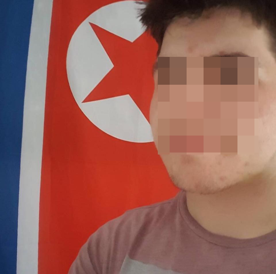 Ryan Activate North Korea Flag Pixelated
