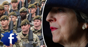 Theresa May Army PsyOps