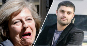Theresa May Samim Bigzad Deport Featured