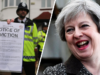 Theresa May Universal Credit Eviction 4/5 Four out of Five