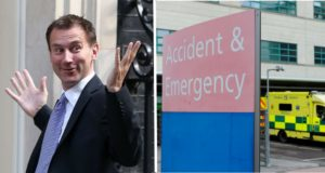 hunt and A&E