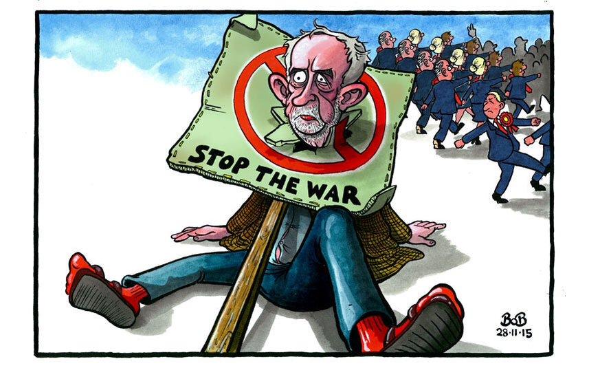 Corbyn Bashed
