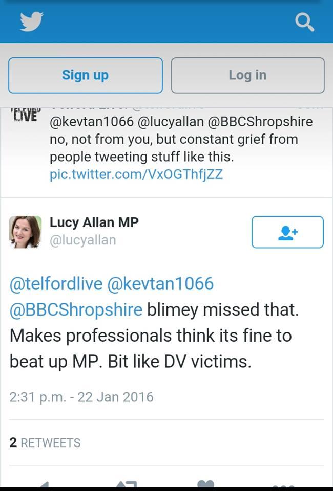 Lucy Allan Domestic Violence