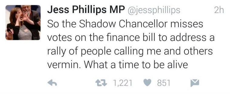 Jess Phillips John McDonnell Vote 1