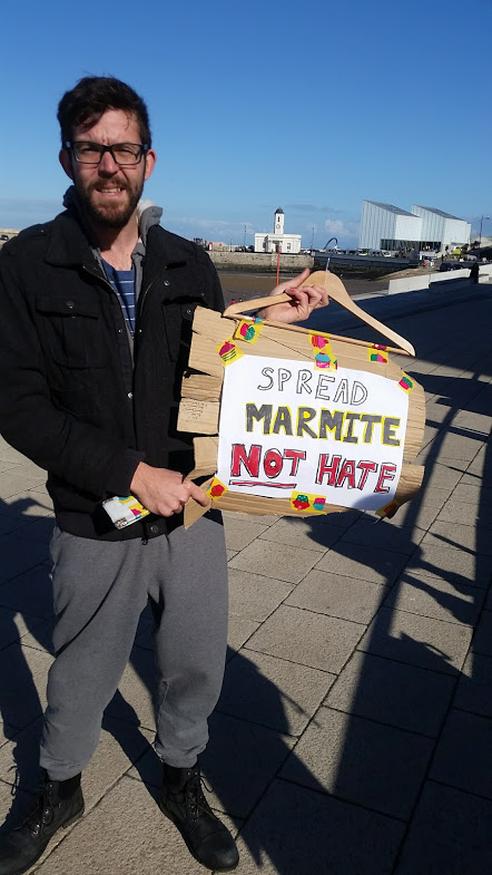 Spread Marmite Not Hate - WLM March Margate