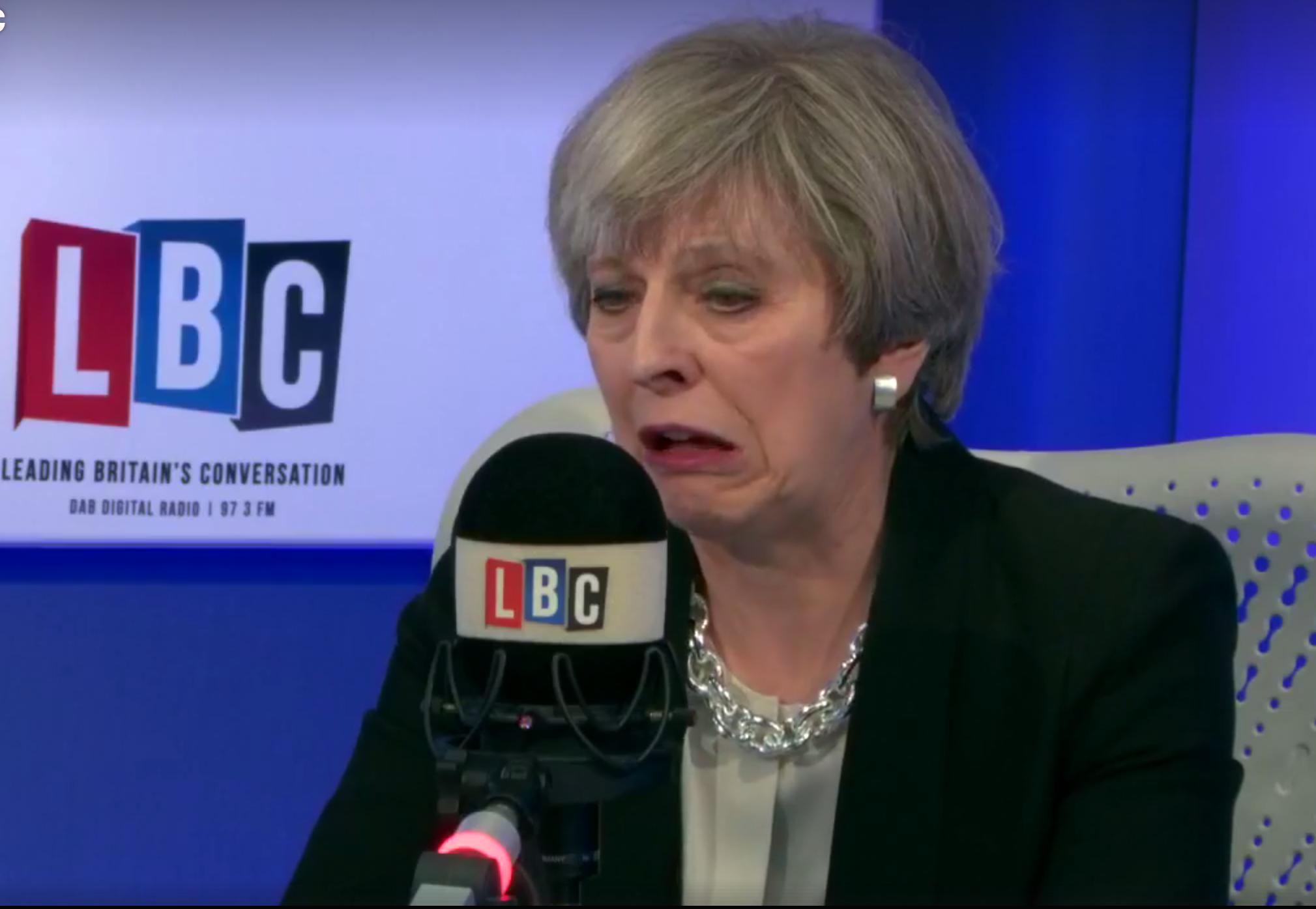 Theresa May LBC Interview 11th May 2017