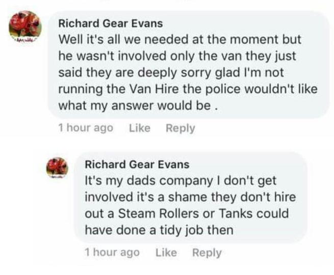 Finsbury Park Richard Gear Evans