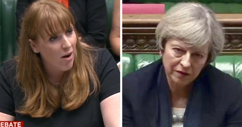 Angela Rayner just savagely exposed Theresa May's brazen hypocrisy and outright disregard for students
