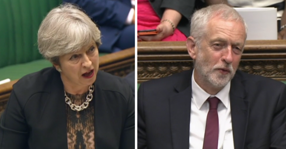 Jeremy Corbyn just obliterated Theresa May's last shred of credibility in outrageously sassy style