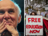 """New Lib Dem Leader Vince Cable just said scrapping tuition fees would be """"dangerous and stupid"""""""