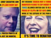 British Gas Iain Conn Theresa May Energy Cap U-Turn