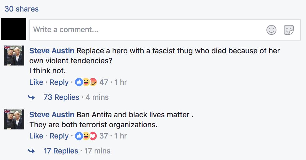 Independent Post Comments Heather Heyer