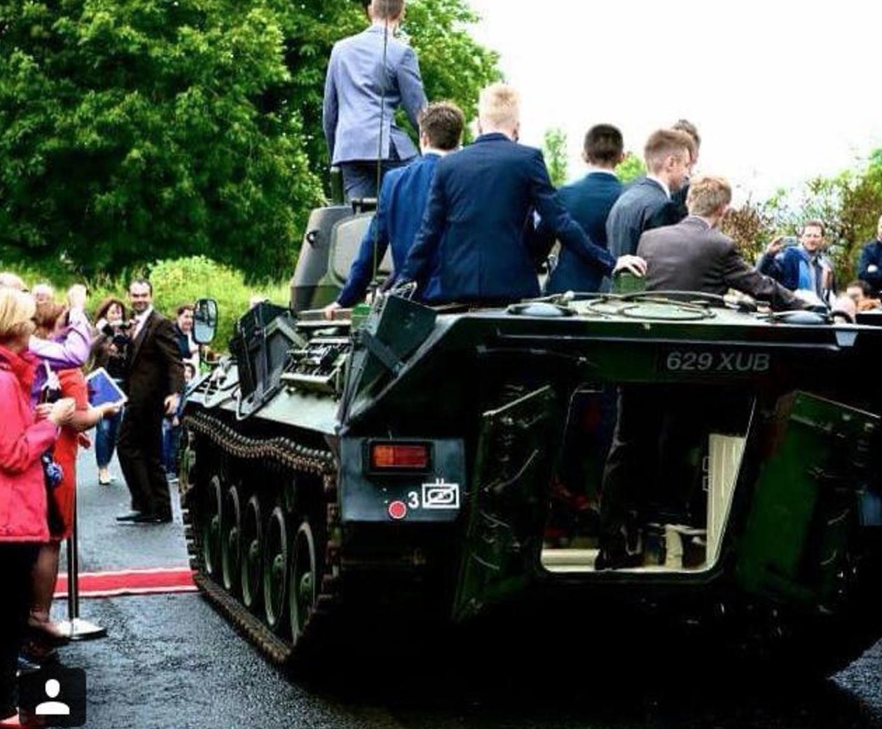 Lewis A Baxter Tank Activate