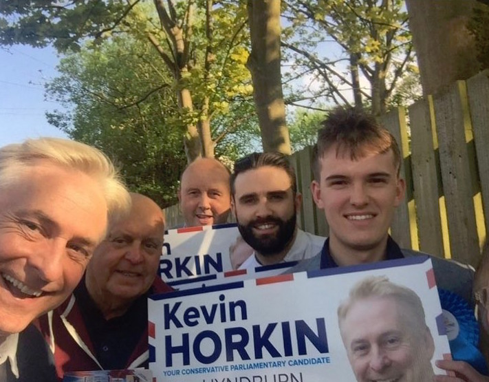 Lewis A Baxter Tory Campaigner Kevin Horkin Activate