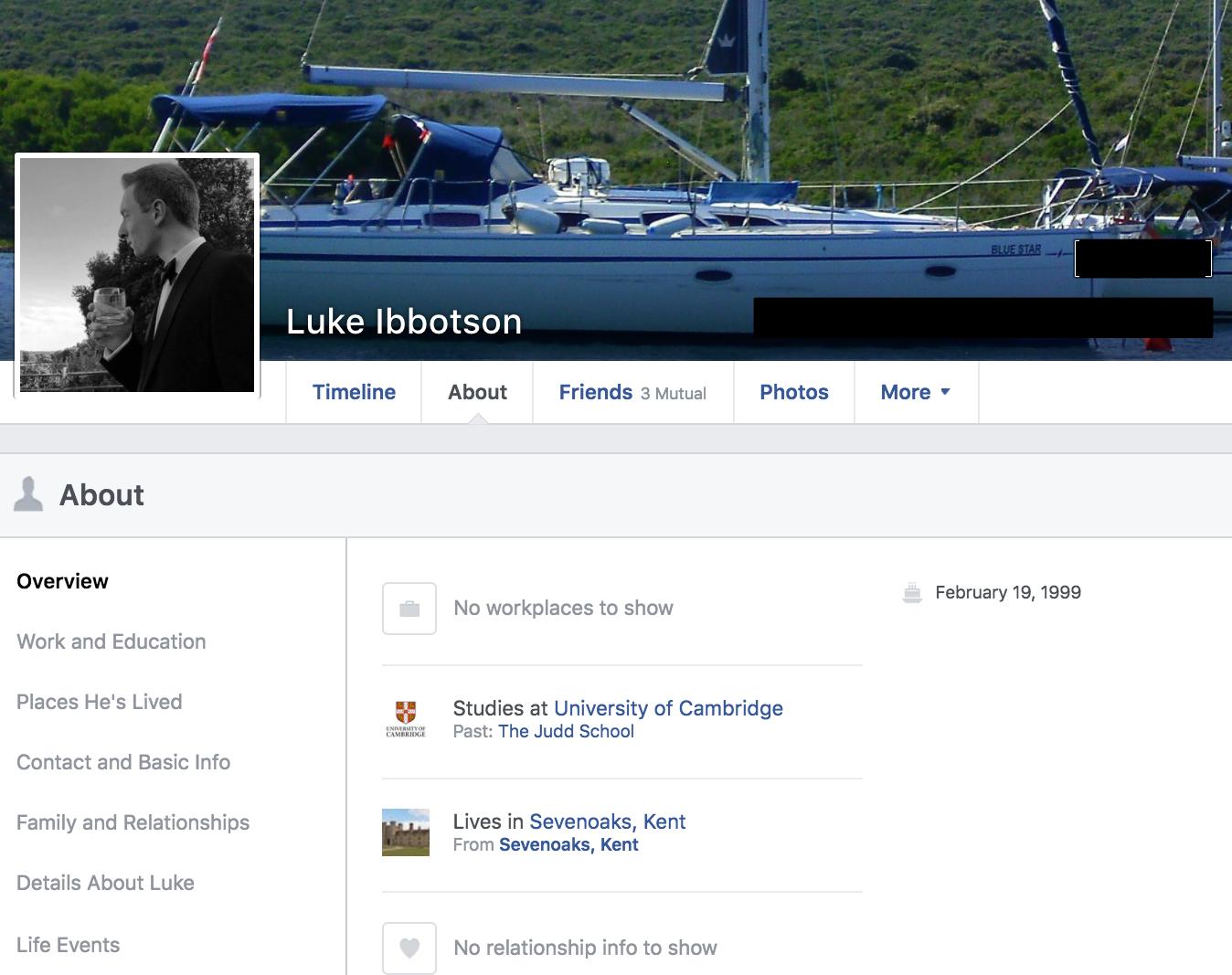 Luke Ibbotson Activate Facebook