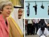 Theresa May King Salman Saudi Arabia