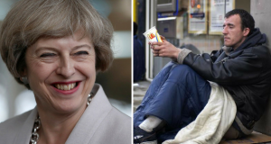 Theresa May Deport Homeless