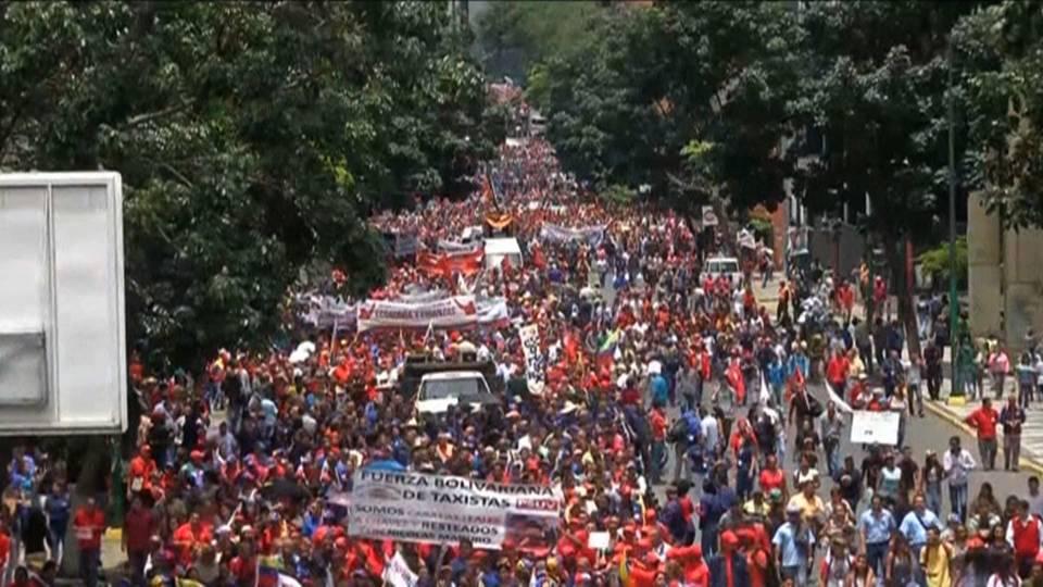 Venezuela Pro-Government March August 2017