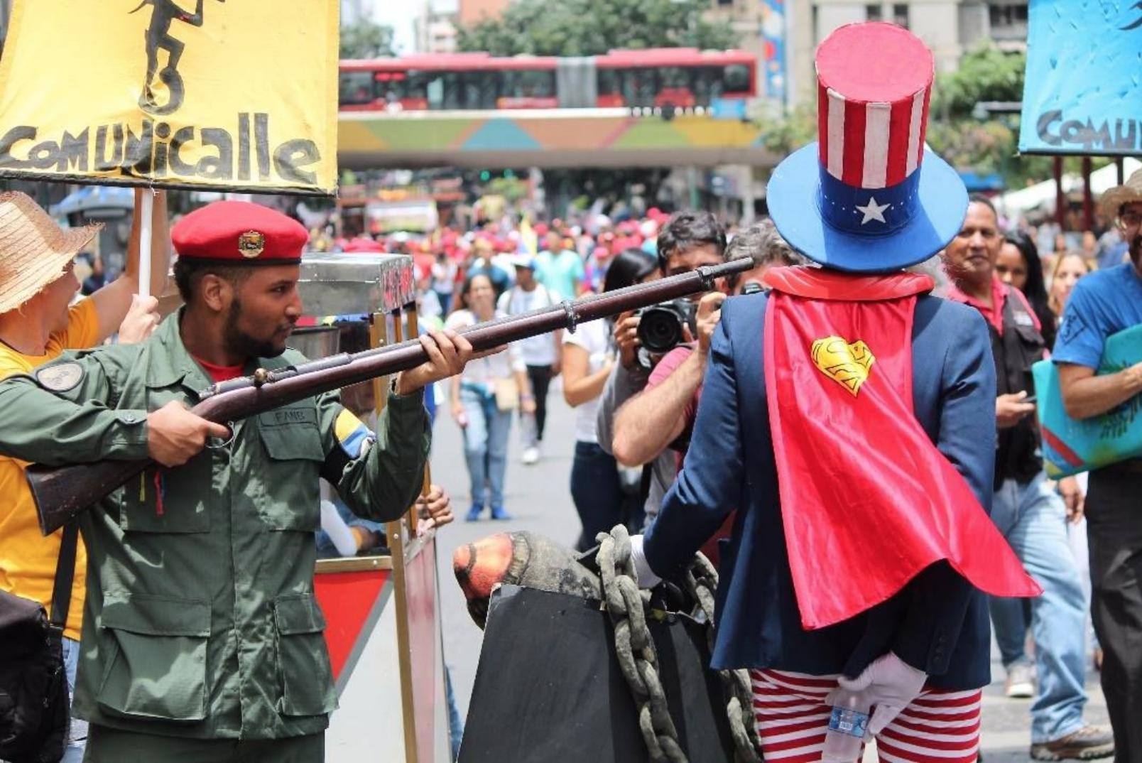 Venezuela Anti-Imperialist March August 2017