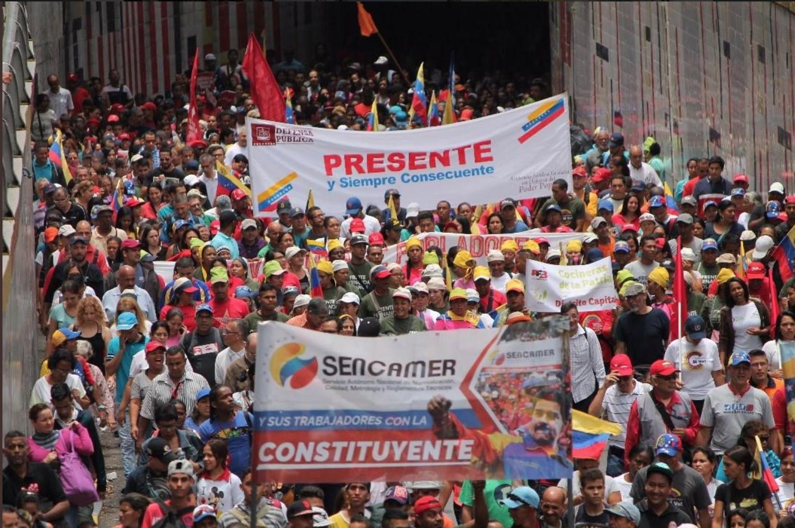 Venezuela Anti-Imperialist March