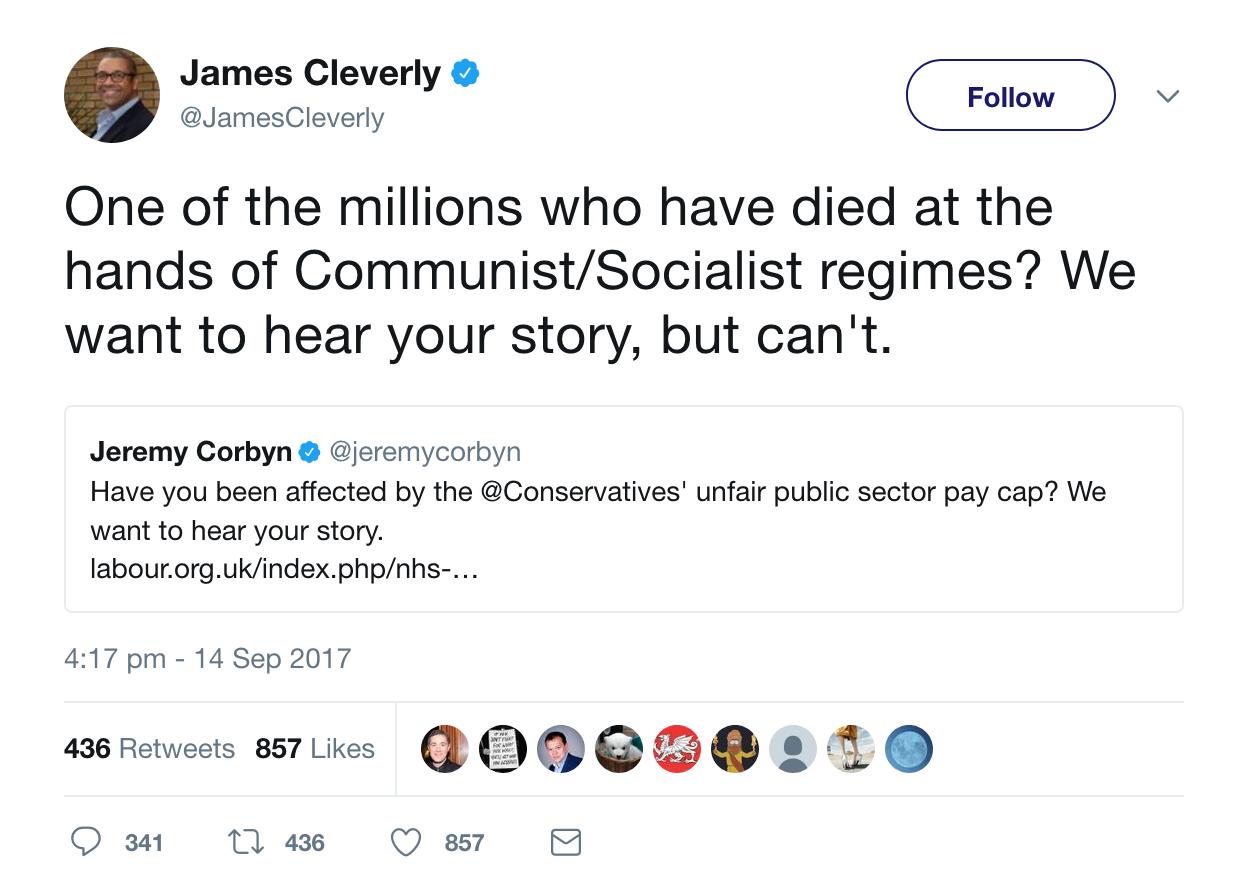 Cleverly Communist Dictators