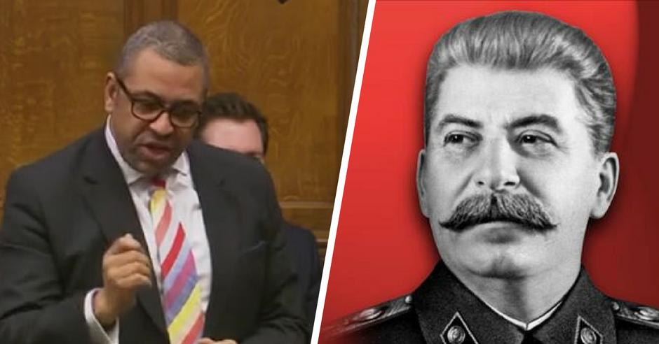 James Cleverly Stalin Communist Regimes