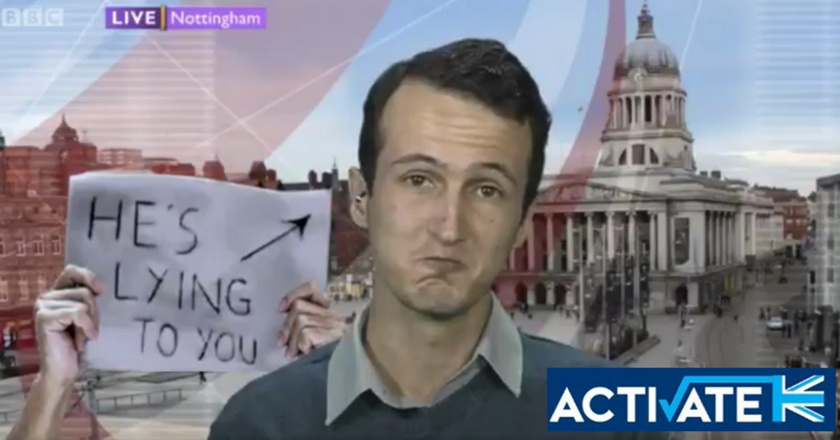 Sam Ancliff Activate Ex-Spokesman Humiliated BBC Daily Politics