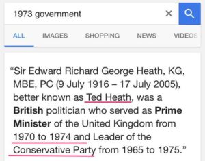 Ted Heath 1973 Google