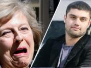 Theresa May Samim Bigzad Deport Featured