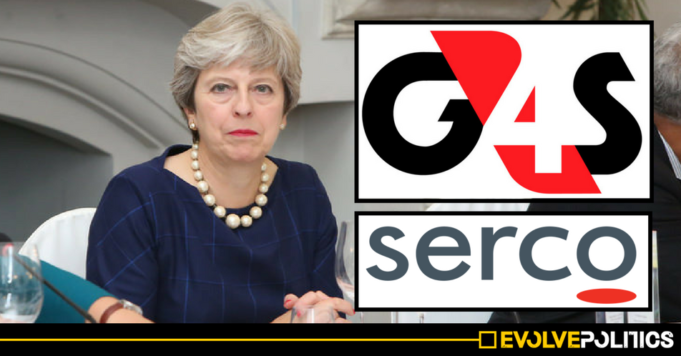 Tories to give private firms like G4S and Serco POWERS TO ARREST people in shocking £290m privatisation deal