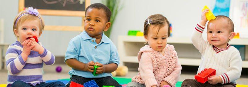 children in nursery