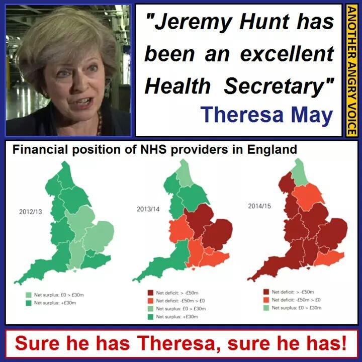 NHS Deficit AAV