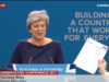 Theresa May Handed P45 Tory Conference