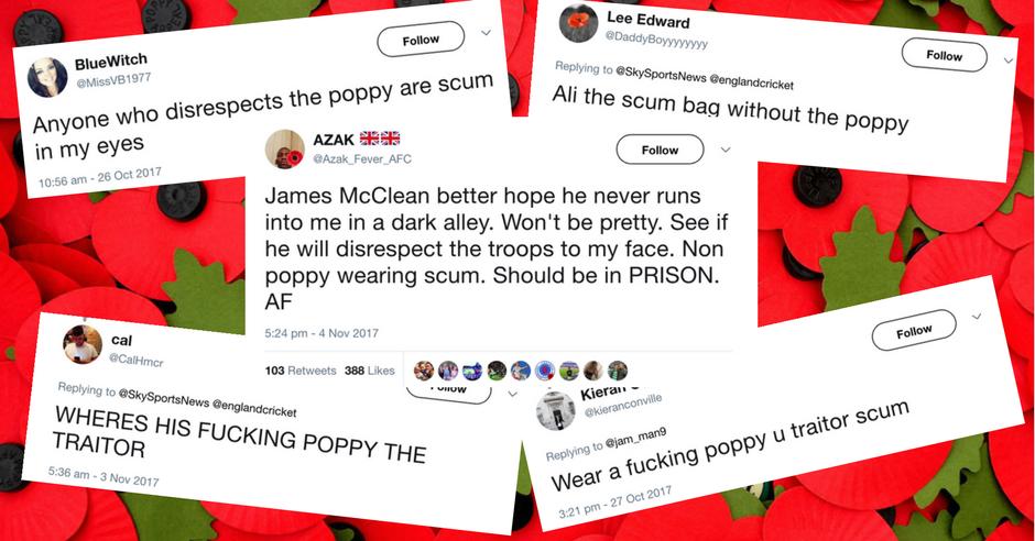 Poppy Scum Traitor