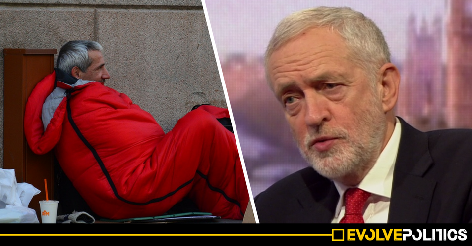 Jeremy Corbyn just pledged to buy every homeless person a house as soon as he becomes PM